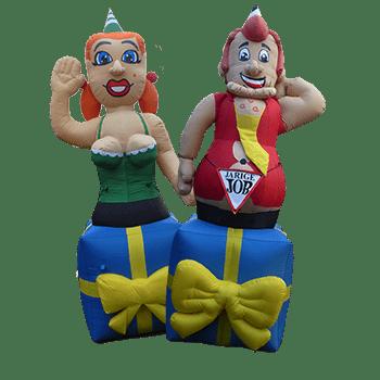 Jarige man en vrouw