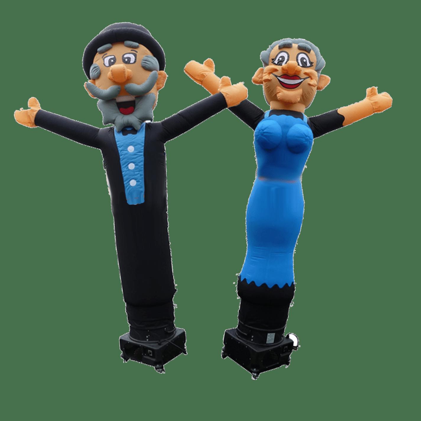 echtpaar skydancers