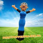 jarige vrouw skydancer