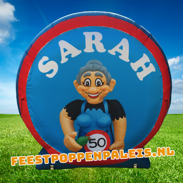 feestbord Sarah