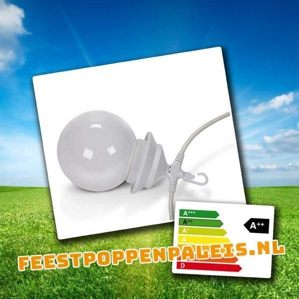 lichtbol feestverlichting tentverlichting LEDverlichting 8 x 4 watt