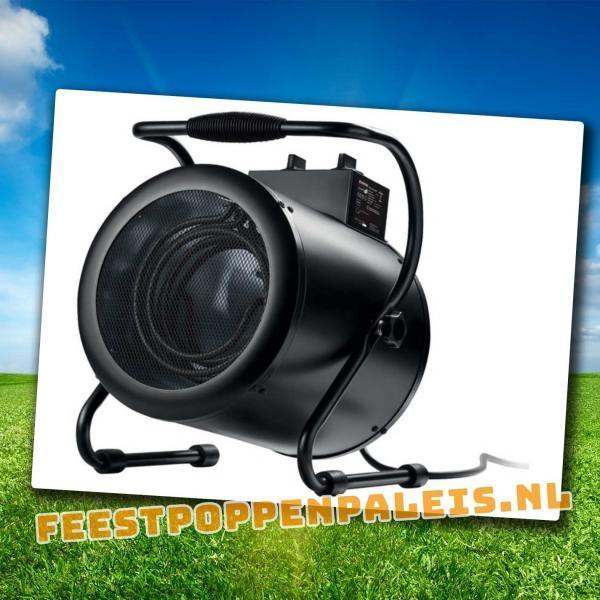 Elektrische heater - 1500 - 3000 watt