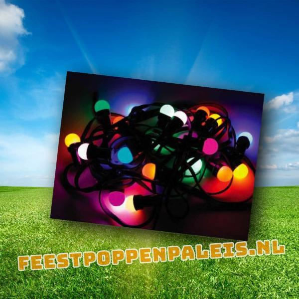 Gekleurde feestverlichting LED