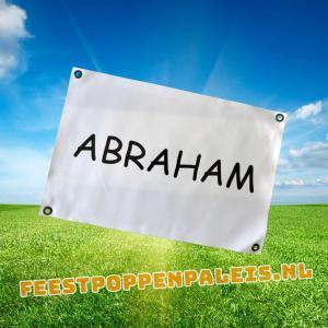 banner - Abraham - 60 x 40 cm