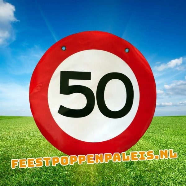 Leeftijdsbanner 50 jaar