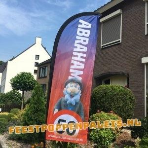 Feestvlag - Abraham - 50 jaar