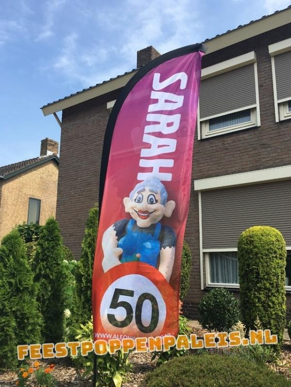 Feestvlag - Sarah - 50 jaar