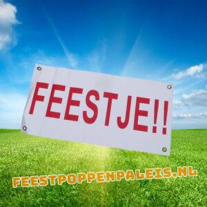 banner - feestje!!